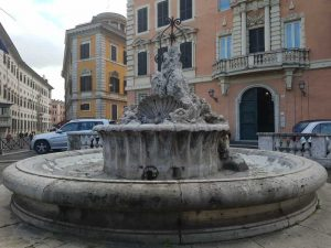 Fontana Clementina del Porto di Ripetta a Roma