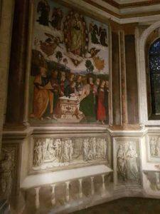 Santa Maria del Popolo, Cappella Basso della Rovere, Assunzione della Vergine