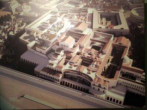 Palatino, il Palazzo Imperiale, II secolo d.C.