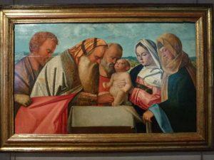Giovanni Bellini, La circoncision, Musée du Petit Palais, Avignon