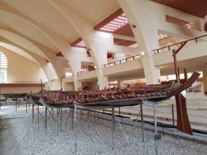 Ricostruzione in scala 1:5 della prima nave