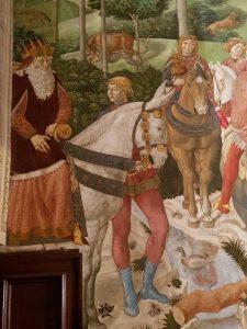 Mago anziano, tradizionalmente identificato con Giuseppe II patriarca di Costantinopoli