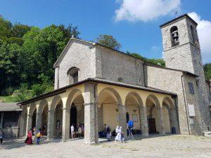 Basilica Maggiore del Santuario, facciata e campanile
