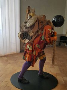 Yinka Shonibare Mbe, The invisible man